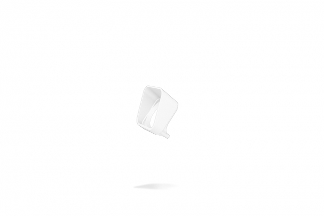 Rise F080 Half Snoot - White A