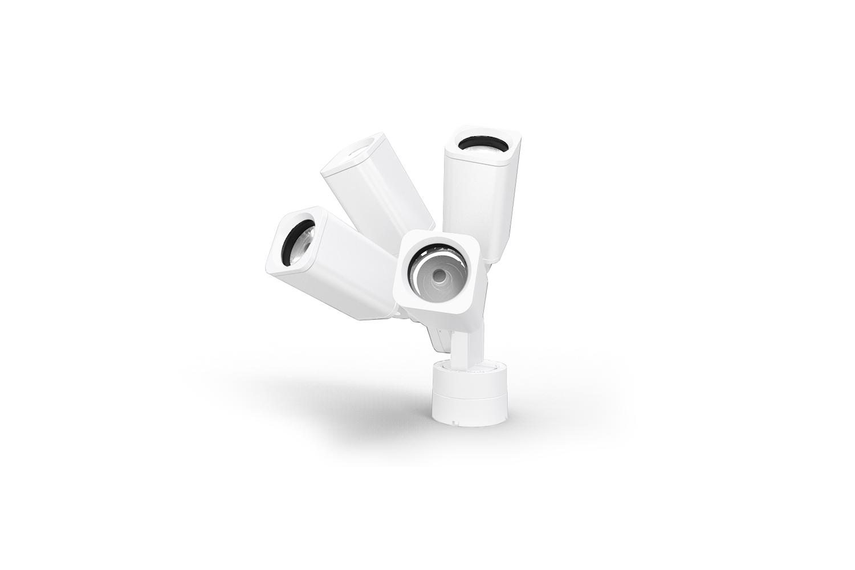 Rise F080 Quad - White D