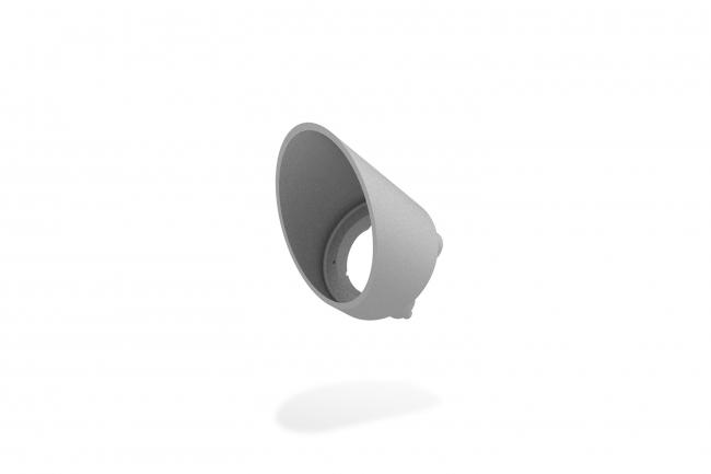 Rise F080 Half Snoot Round - Silver