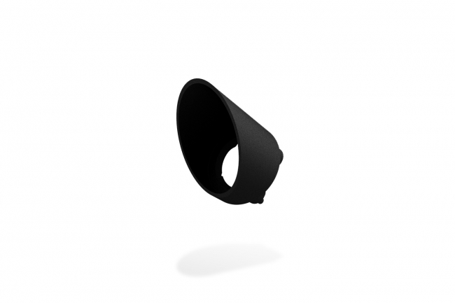 Rise F080 Half Snoot Round - Black