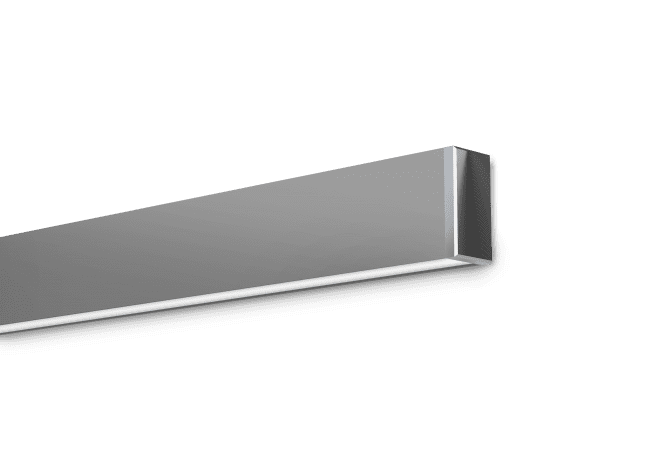 Hassium 1 Satin Clear Surface Mounted