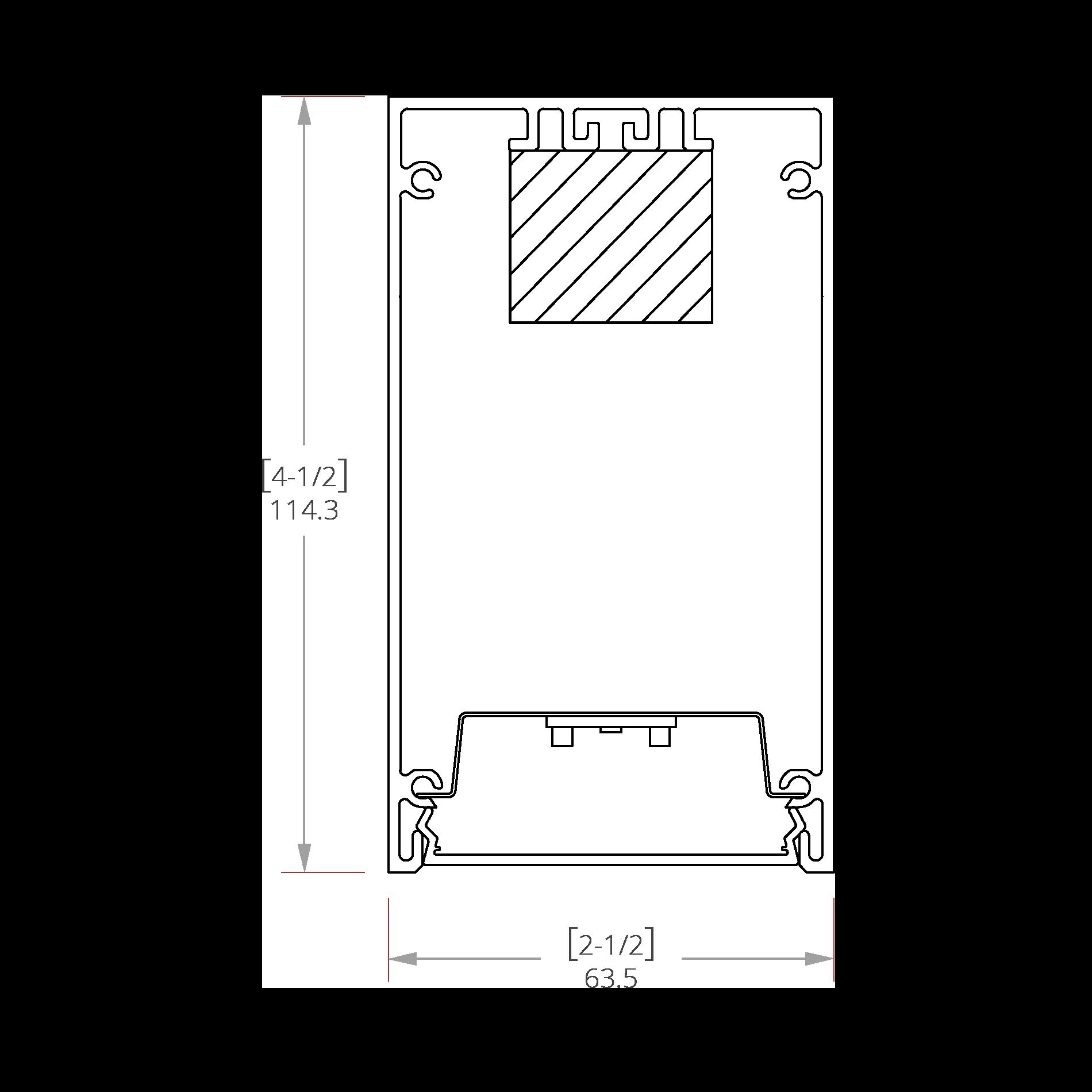 Hafnium 2 Line Drawing