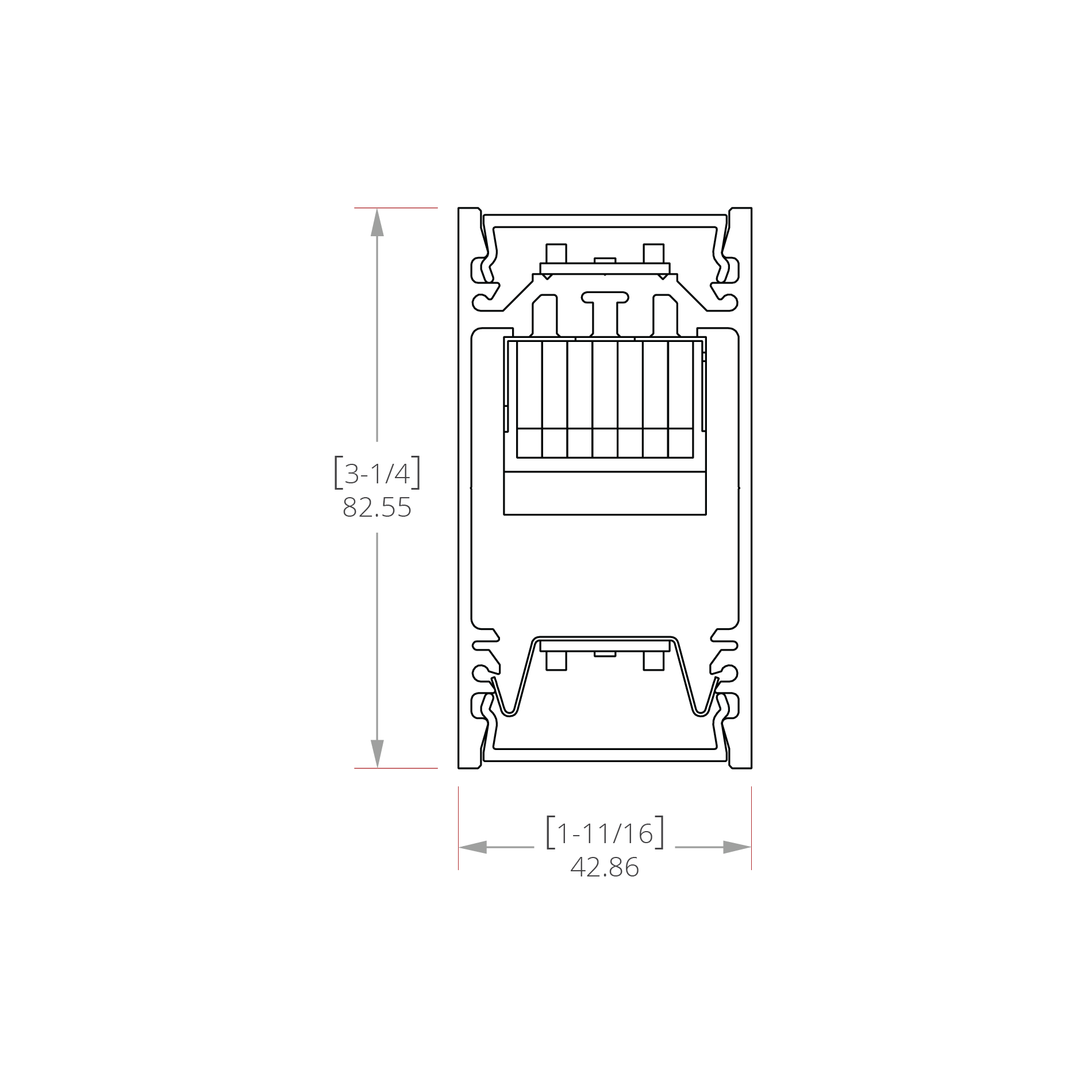 Hassium 1 Line Drawing