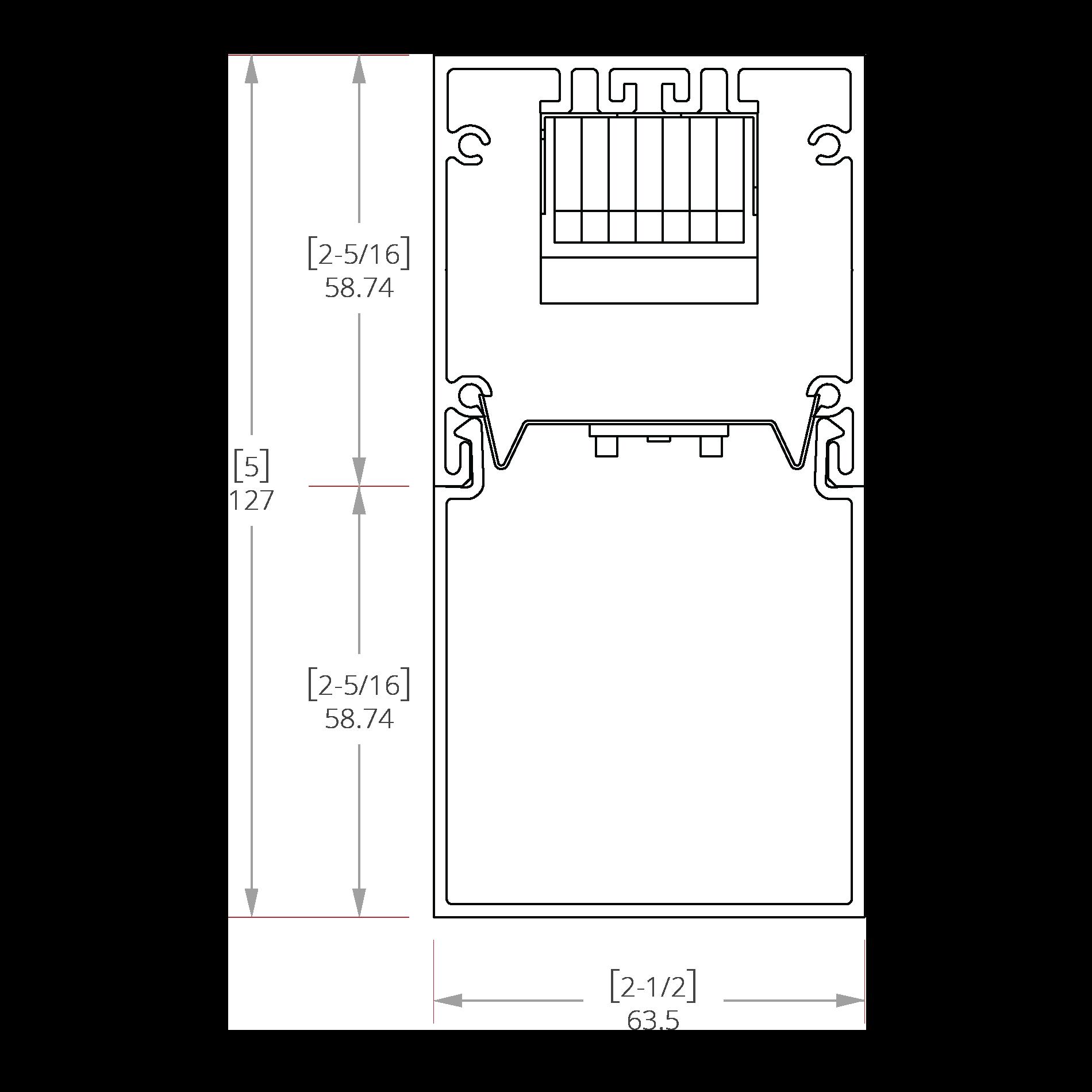 Hydrogen 2 Line Drawing