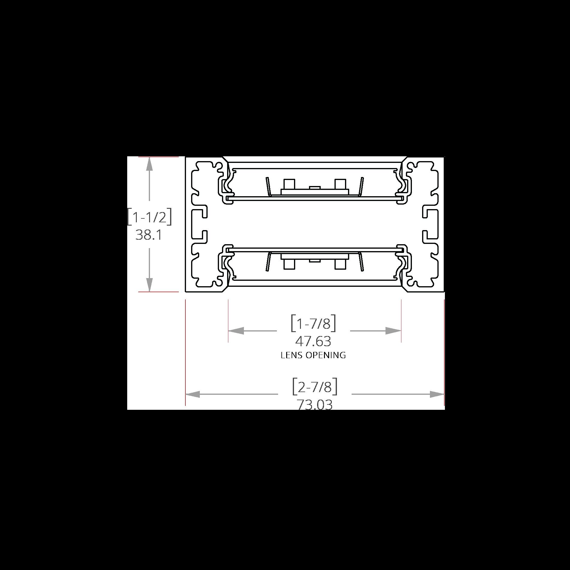 Magnesium 2 Line Drawing