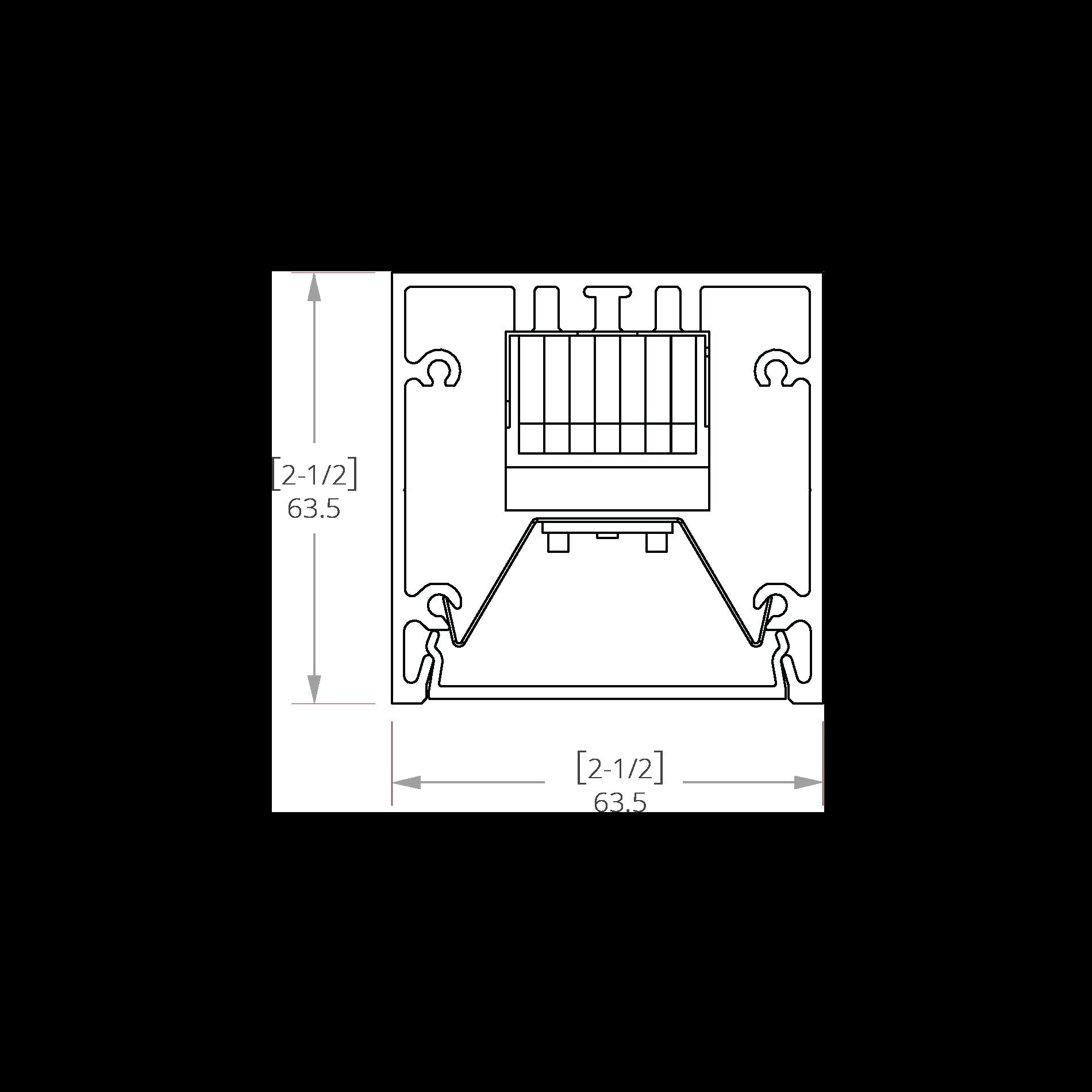 Nitrogen 2 Line Drawing