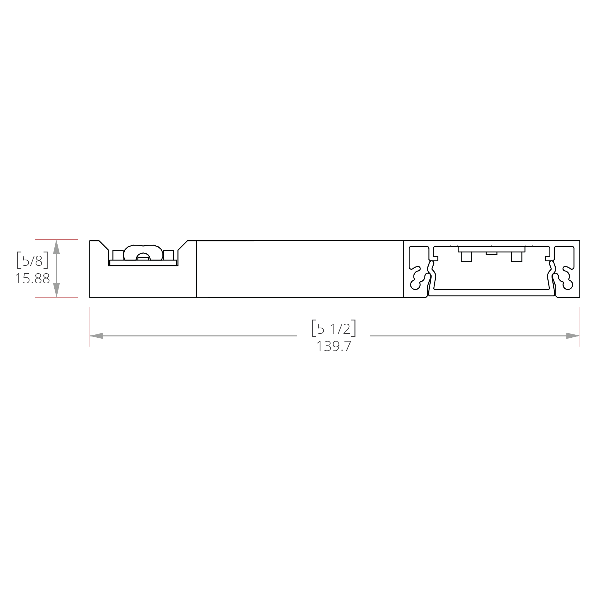 Tantalum Line Drawing