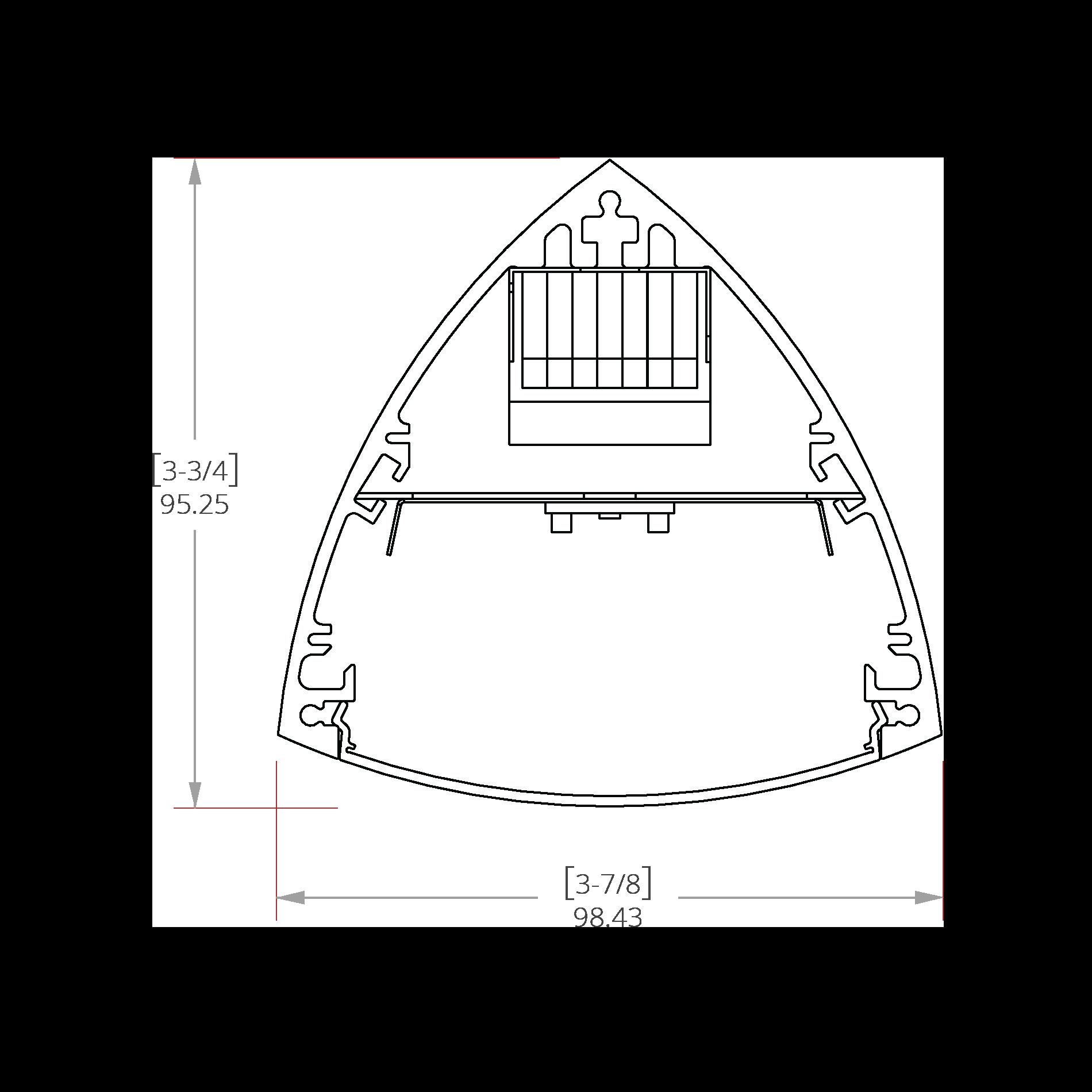 Thallium 3 Line Drawing