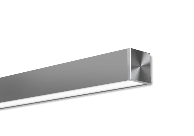 Neodymium 3 Satin Clear Surface Mounted
