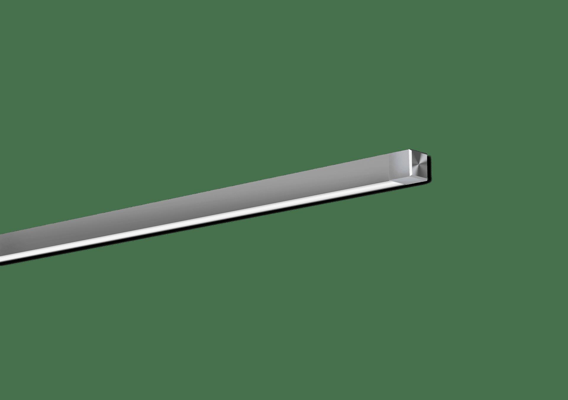 Nitrogen 0 Satin Clear Surface Mounted