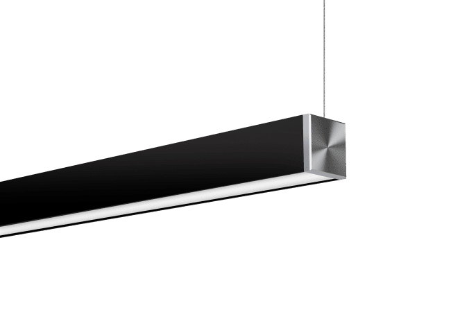 Nitrogen 2 Black Cable Suspended