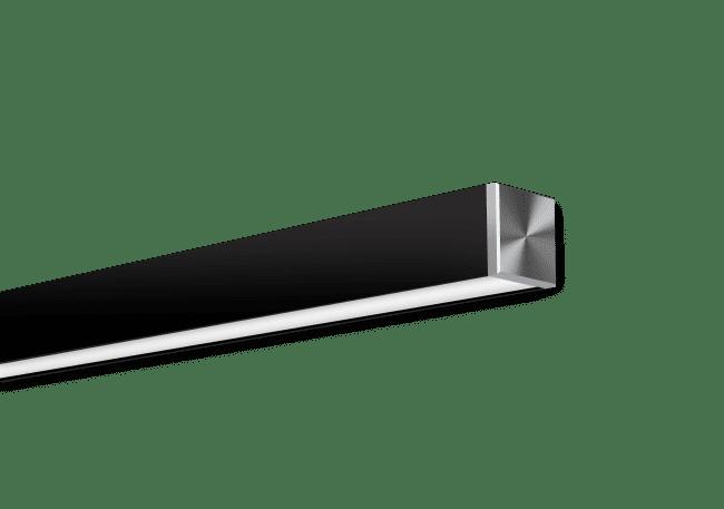 Nitrogen 2 Black Surface Mounted