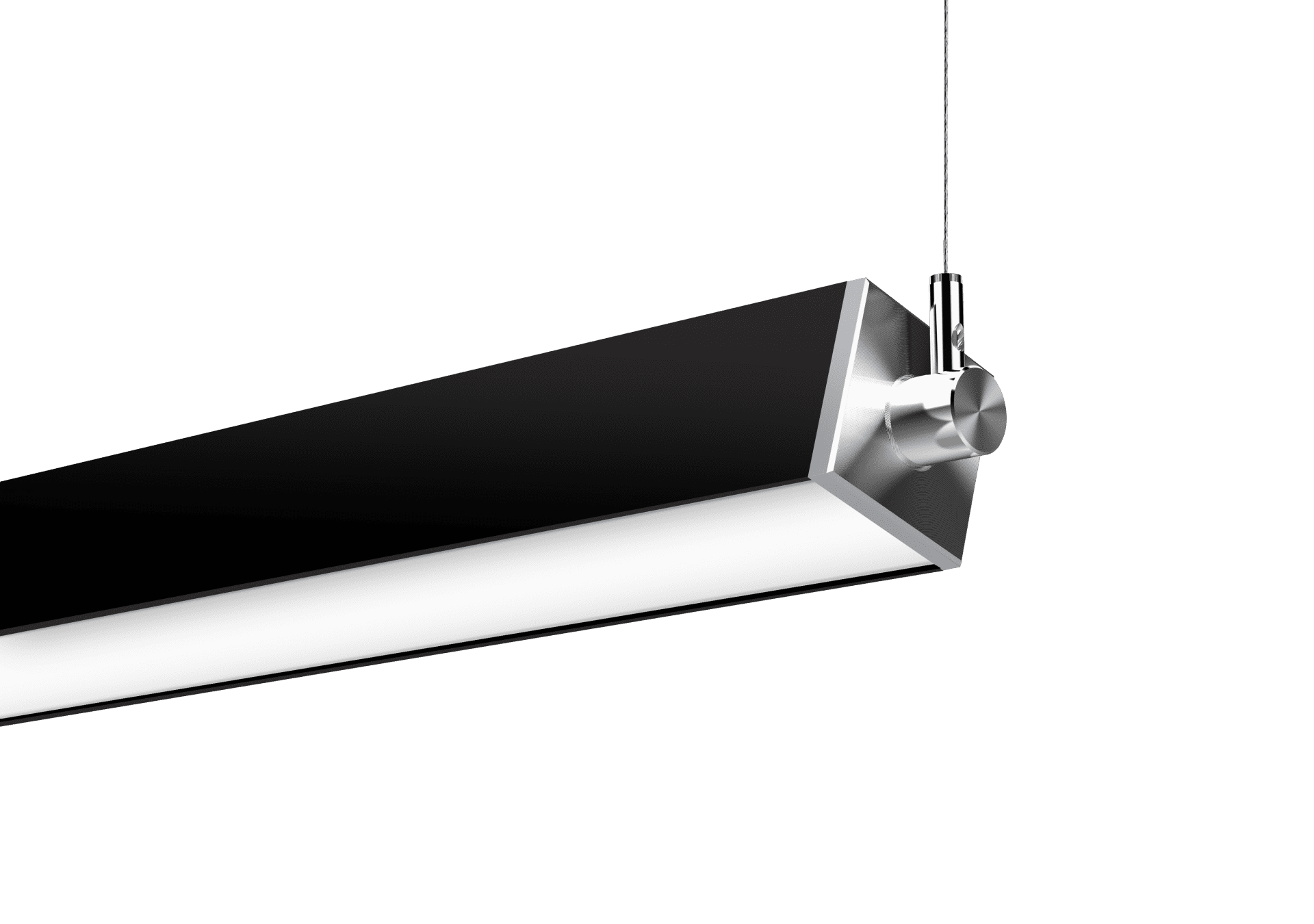 Nitrogen 3 Black Cable Suspended Rotational