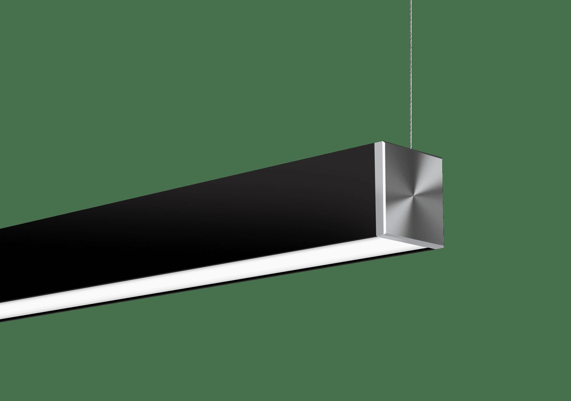 Nitrogen 3 Black Cable Suspended