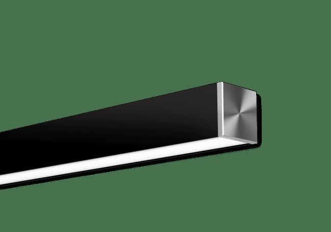 Nitrogen 3 Black Surface Mounted
