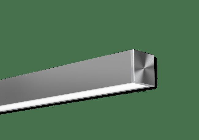 Nitrogen 3 Satin Clear Surface Mounted