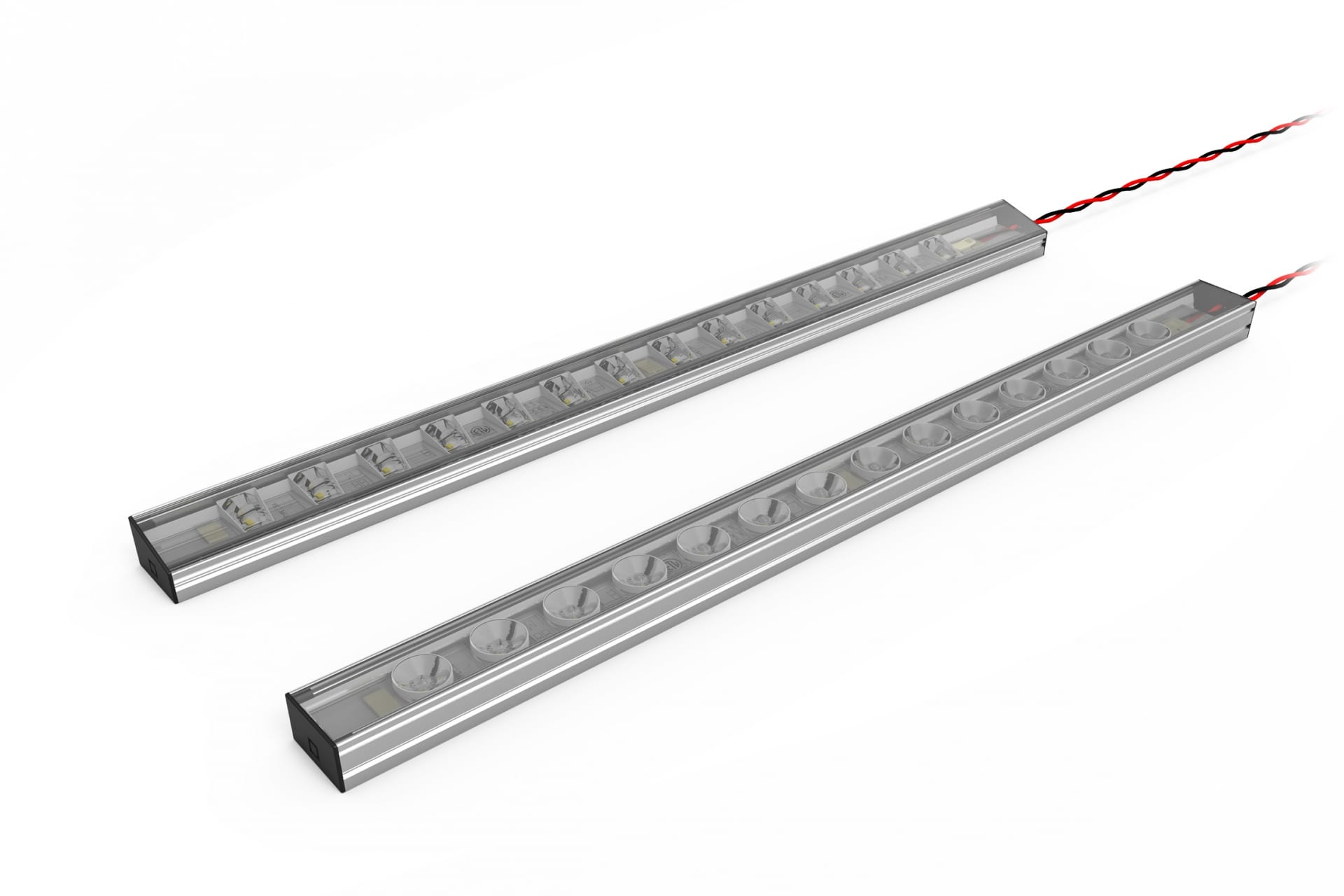 TROV Flex Flat Mounting Extrusion with Covers